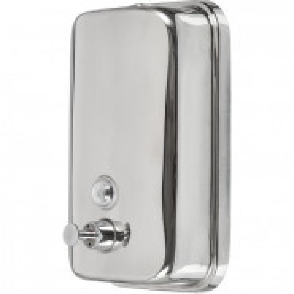 Дозатор для жидкого мыла  Solinne  1л. из нерж.стали(полированный)