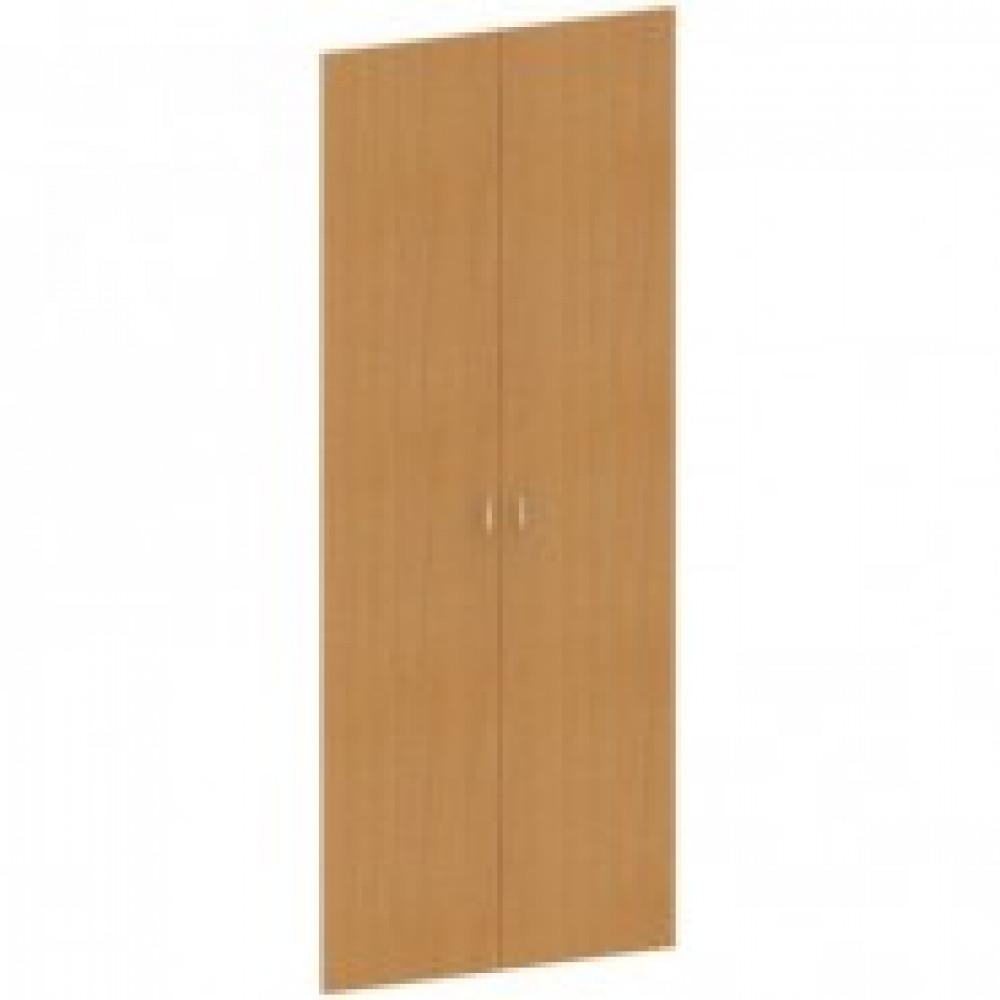 Двери высокие Этюд (ЛДСП, 2 штуки, высота 1870 мм, бук)