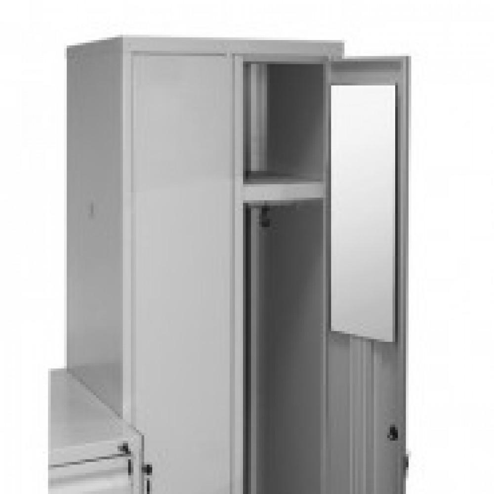 Зеркало KD_Зеркало классик-10 на металлические шкафы.600х200