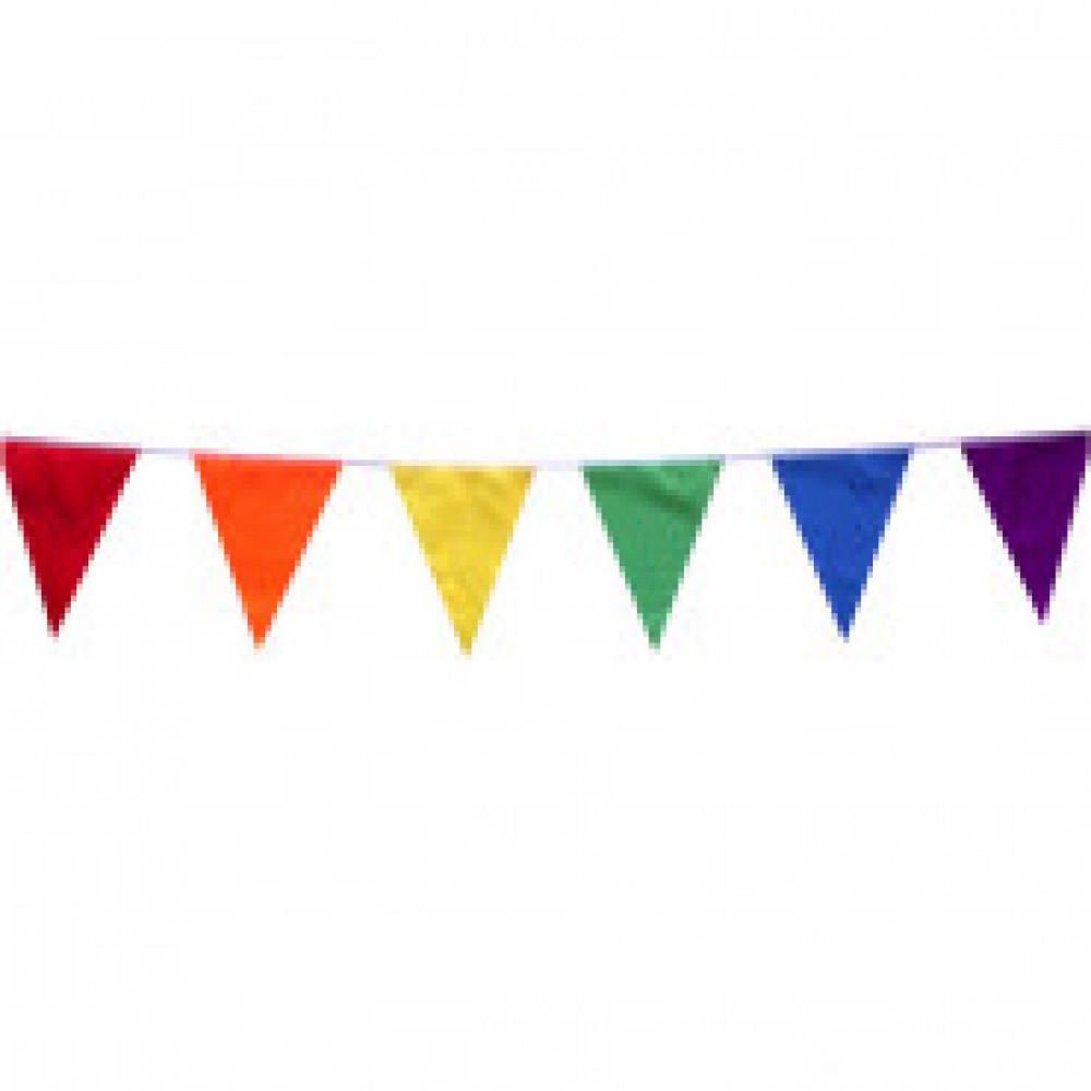 Гирлянда Флажковая лента Разноцветная 5м