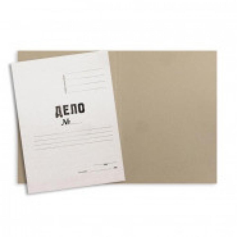 Папка обложка Дело 380г/м2 мелованная, 200 шт/уп