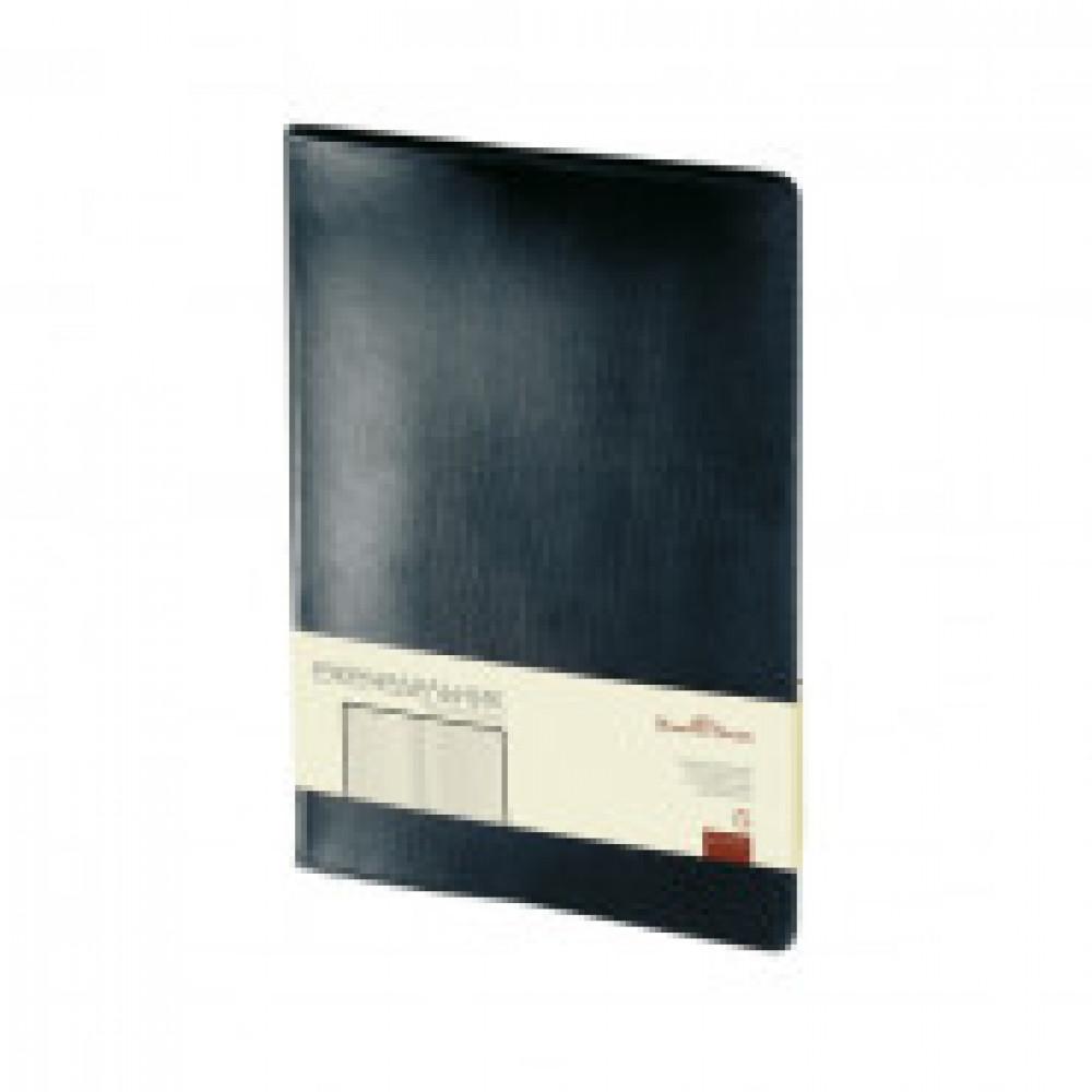 Еженедельник недатированный Bruno Visconti Profy натуральная кожа А4 64 листа черный (222x302 мм) (артикул производителя 3-098/02)