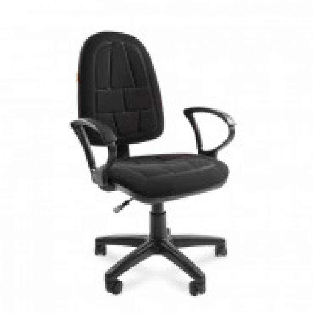 Кресло офисное Chairman 205 черное (ткань, пластик)