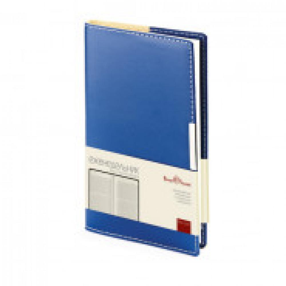 Еженедельник недатированный Bruno Visconti Metropol искусственная кожа А6 80 листов синий (102x177 мм) (артикул производителя 3-492/01)
