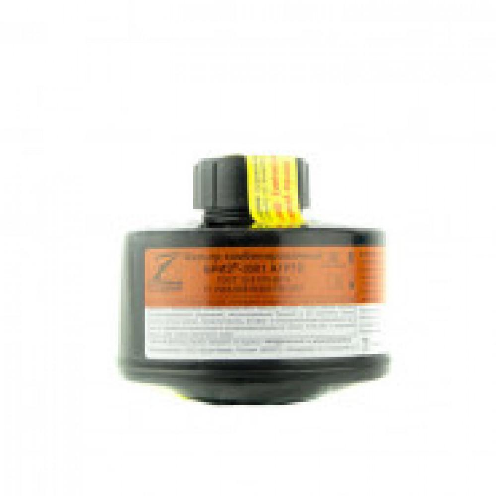 Патрон противогазовый БРИЗ-КАМА Бриз-3001 А1Р1D органические газы аэрозоли