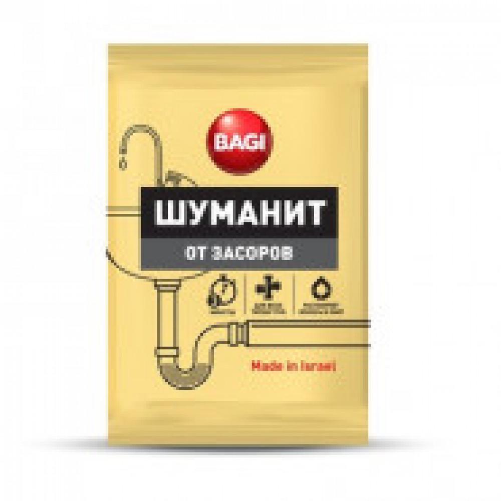 Средство для прочистки труб Bagi Шуманит от засоров, 70 гр.