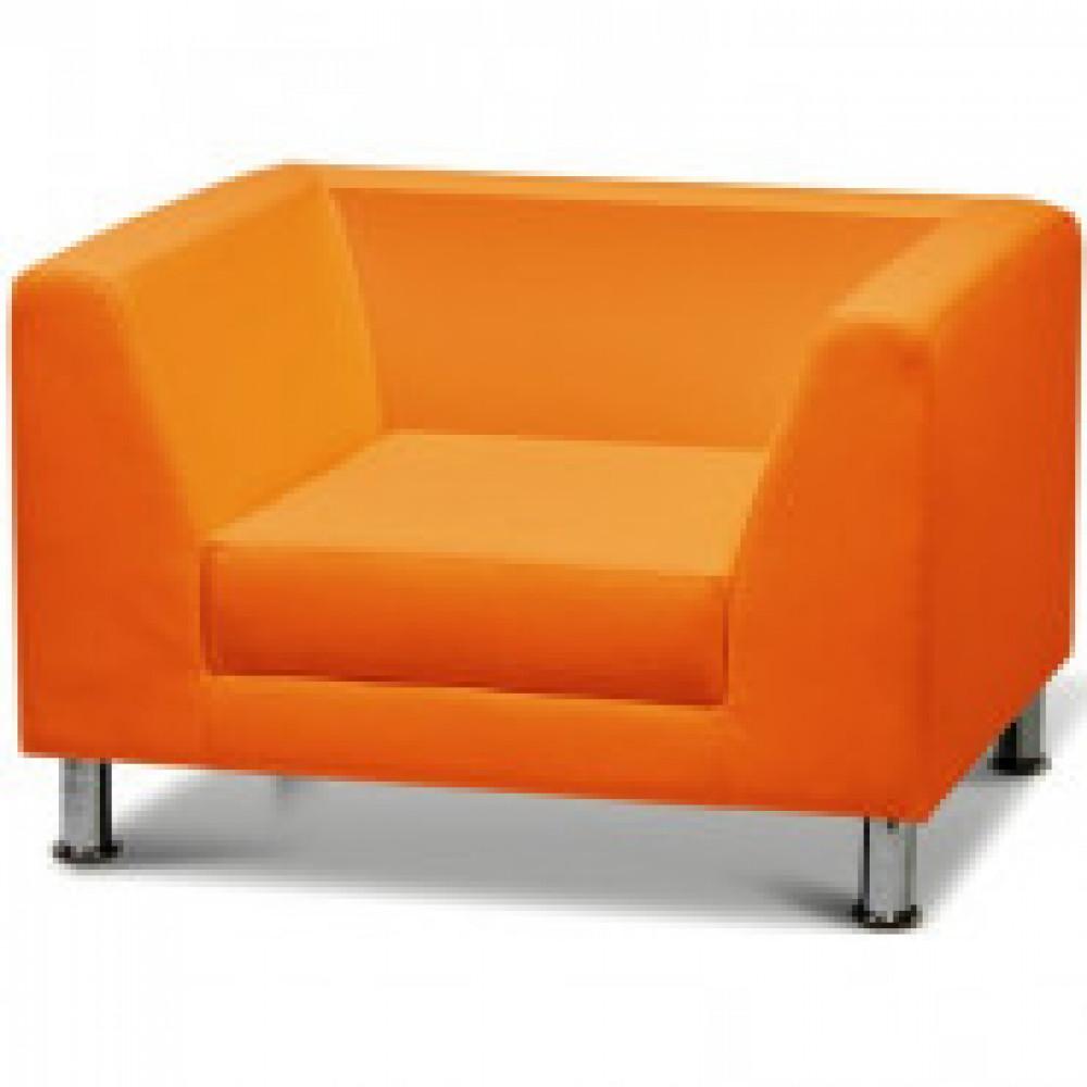 Мягкая мебель MV_EVOLUTION кресло. к/з оранж. Oregon 20