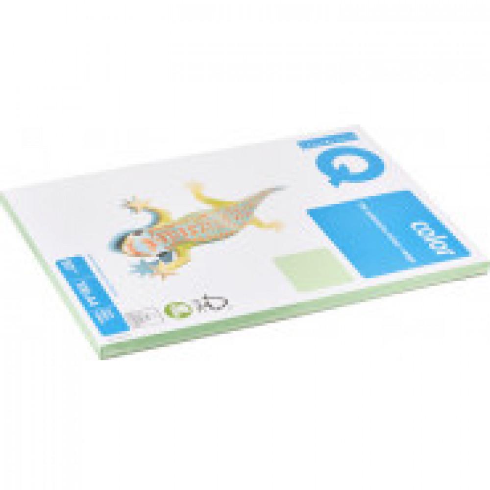 Бумага цветная IQ COLOR (А4,80г,MG28-зеленый) пачка 100л.