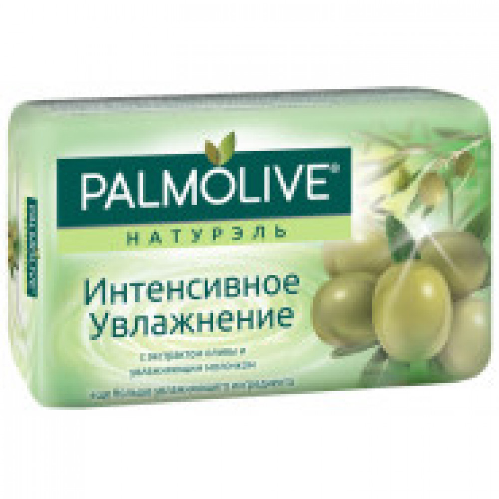 Мыло туалетное 90г PALMOLIVE Интенсивное увлажнение (с экстрактом оливы)