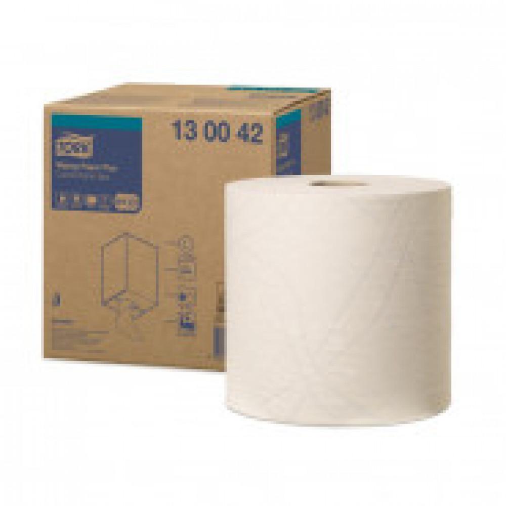 Бумага протирочная Tork W1/W2/W3 комби рулон 2сл.750лx1рул/кор,белый 130042