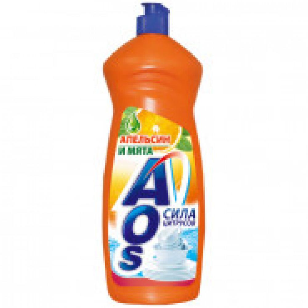Средство для мытья посуды AOS Бальзам в ассортименте 900мл.