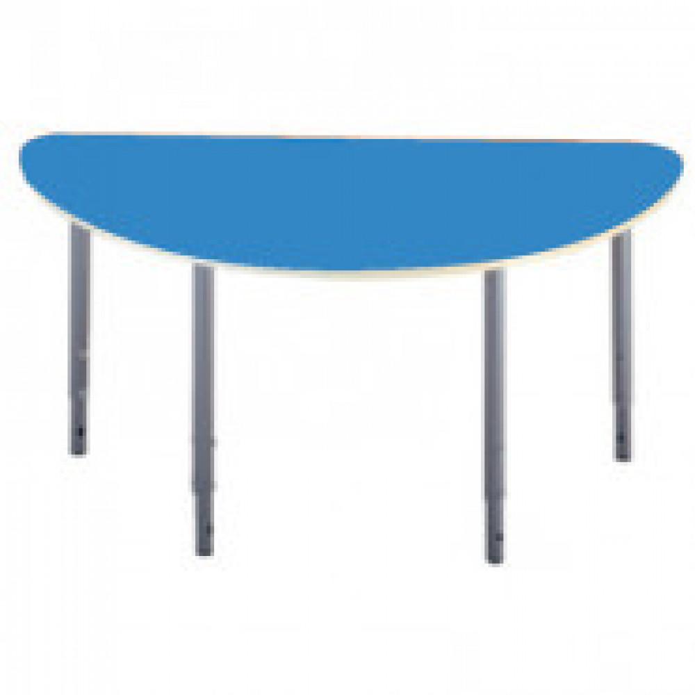 Детская мебель Д_Стол полукругл. 005.327 Рост 0-3 голубой