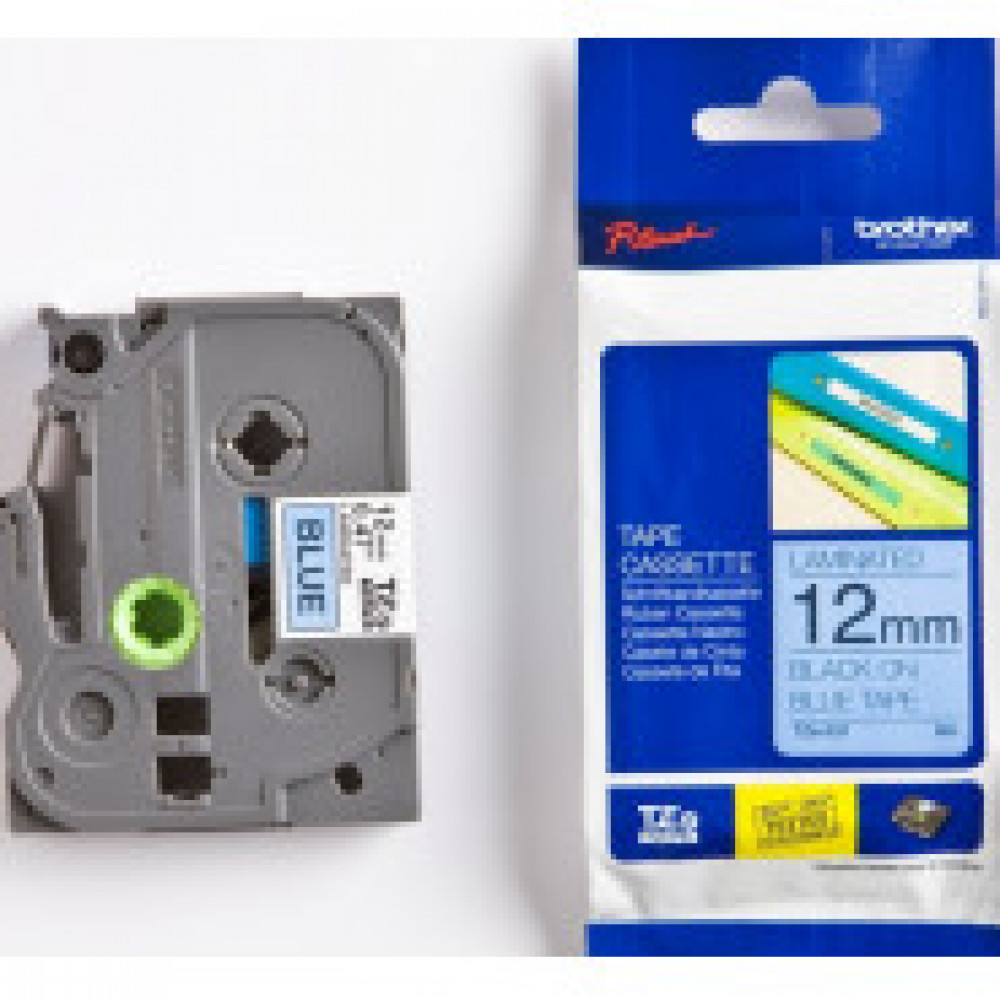 Картридж к этикет-принтеру Brother TZe-531 12ммх8м чер/син лам. для P-Touch