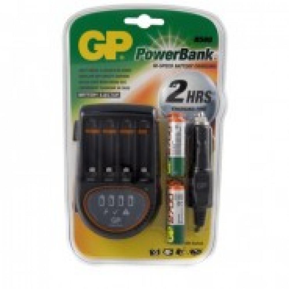 Зарядное устройство GP PB50GS270CA для 4-х аккумуляторов АА/ААА (в комплекте 4 аккумулятора АА емкостью 2700 mAh)