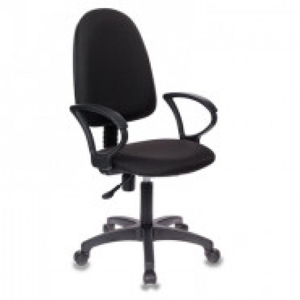 Кресло VB_БЮРОКРАТ CH-1300 Black, ткань черная