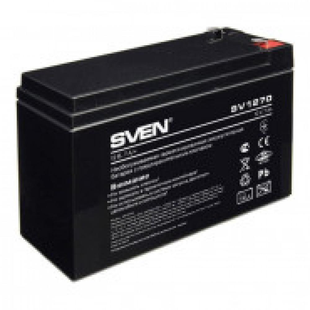 Батарея для ИБП SVEN SV 1270 (12V/7Ah) аккумуляторная