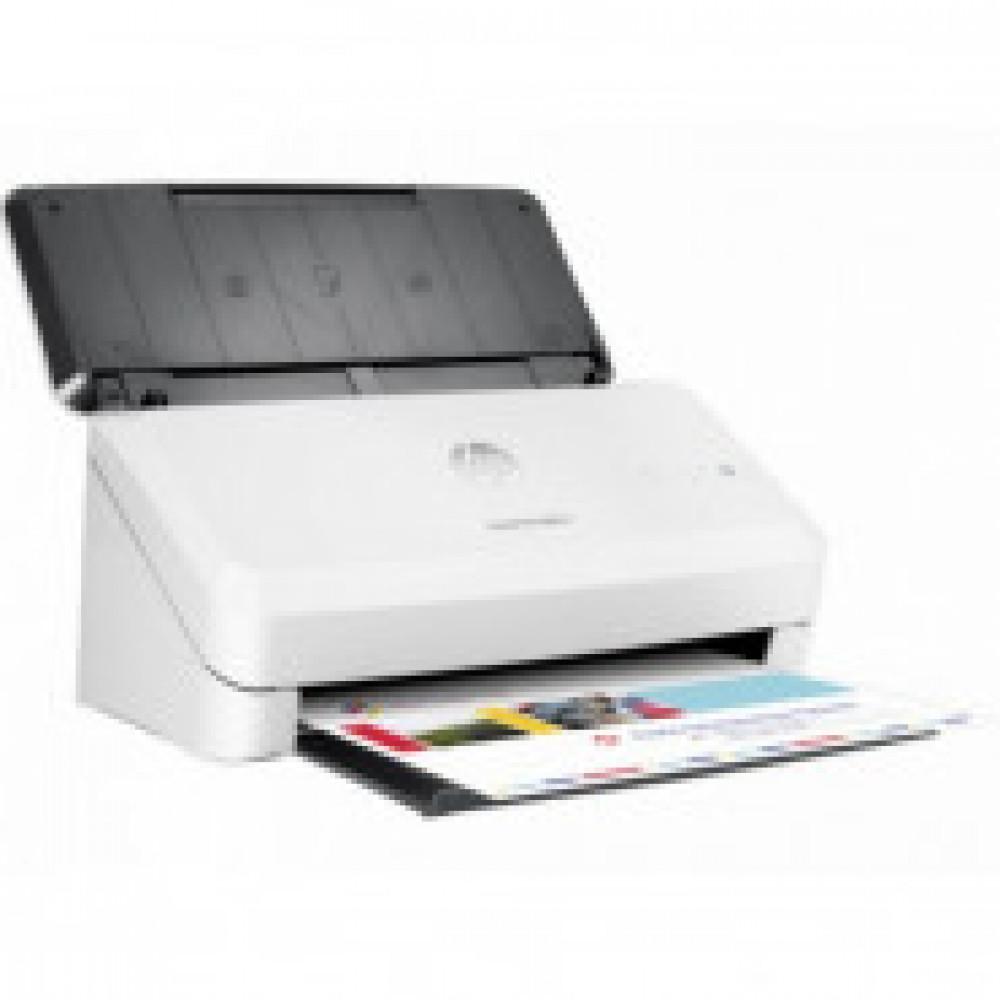 Сканер HP Scanjet Pro 2000 s1(L2759A) A4  24ppm полистовая подача