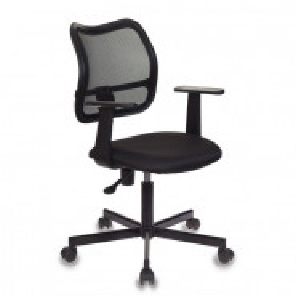Кресло VB_Бюрократ CH-797M спинка черная, сиденье черное 15-21, металл