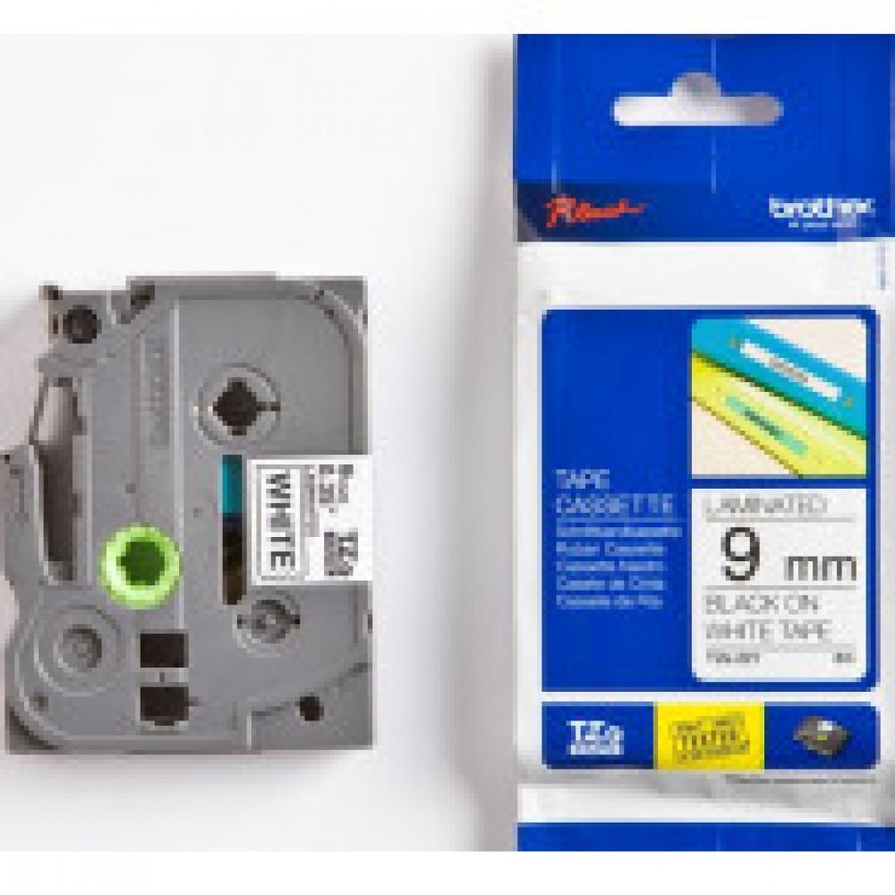 Картридж к этикет-принтеру Brother TZe-221 9ммх8м чер/бел лам. для P-Touch