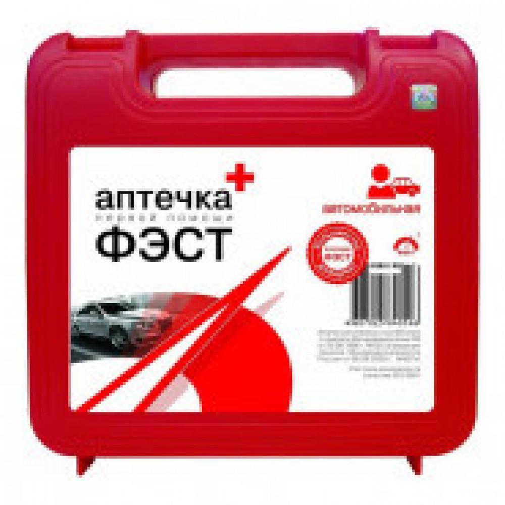 Аптечка автомобильная ФЭСТ (новый состав) (полистирол)