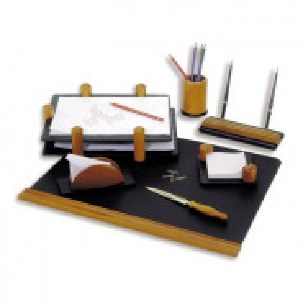 Набор настольный Good Sunrise деревянный 7 предметов светлый орех