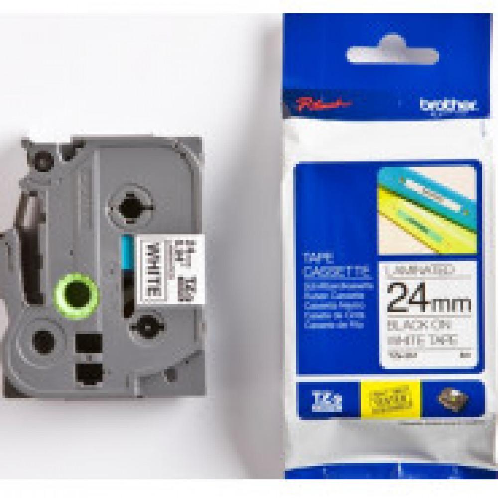 Картридж к этикет-принтеру Brother TZe-251 24ммх8м чер/бел лам. для P-Touch