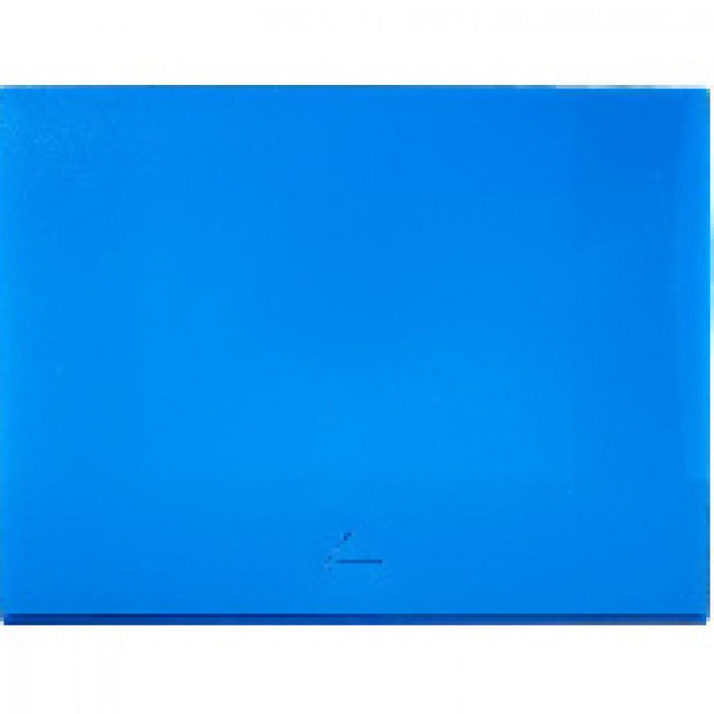 Папка короб Attache  А4 на клапане, синяя