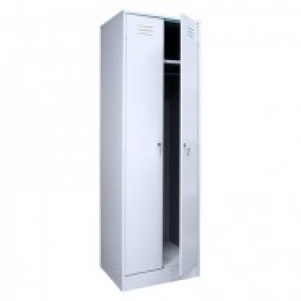 Метал.Мебель P_ШРМ22М(800) шкаф д/одежды 2 дв. 800х500х1860