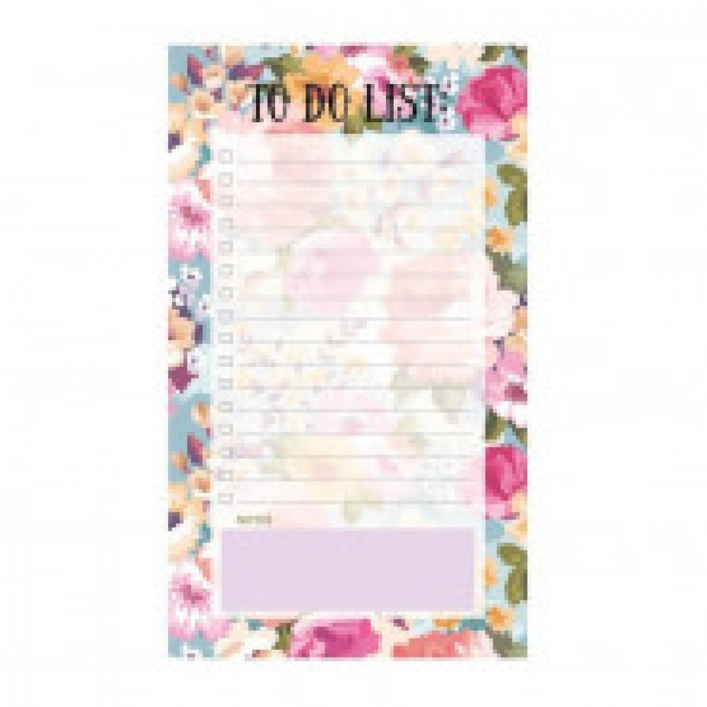 Расписание уроков планер 50л,склейка,недатирован.,100х180мм Blossom N1666