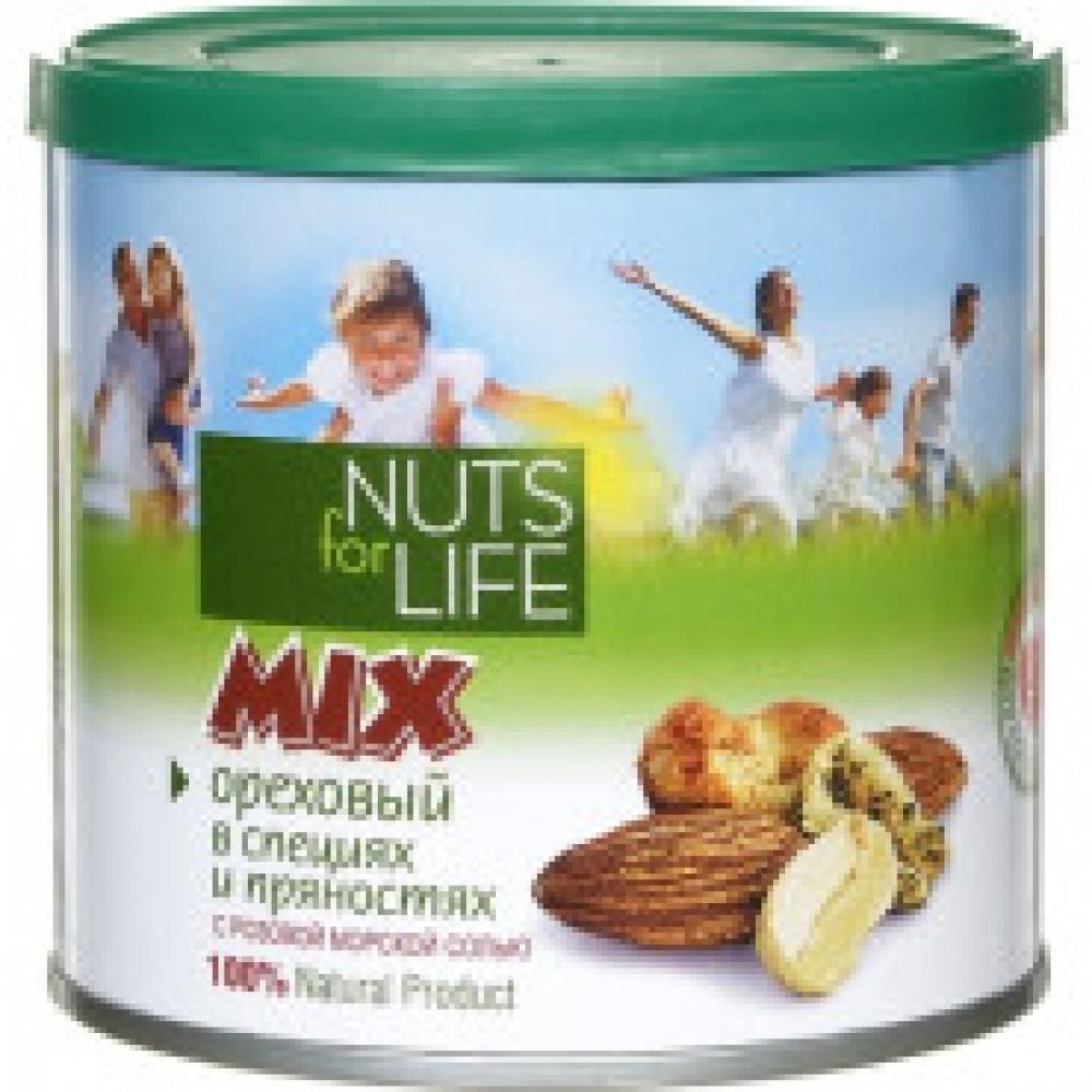 Микс ореховый Nuts for life,  115г