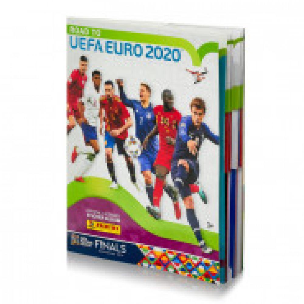 Альбом для детских наклеек ROAD TO EURO2020