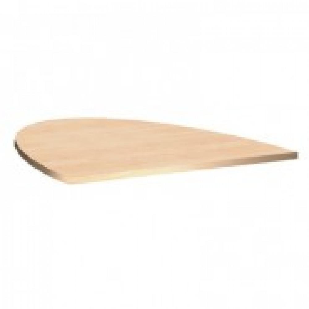 Мебель PT Арго Приставка к столу для переговоров А-027 бук