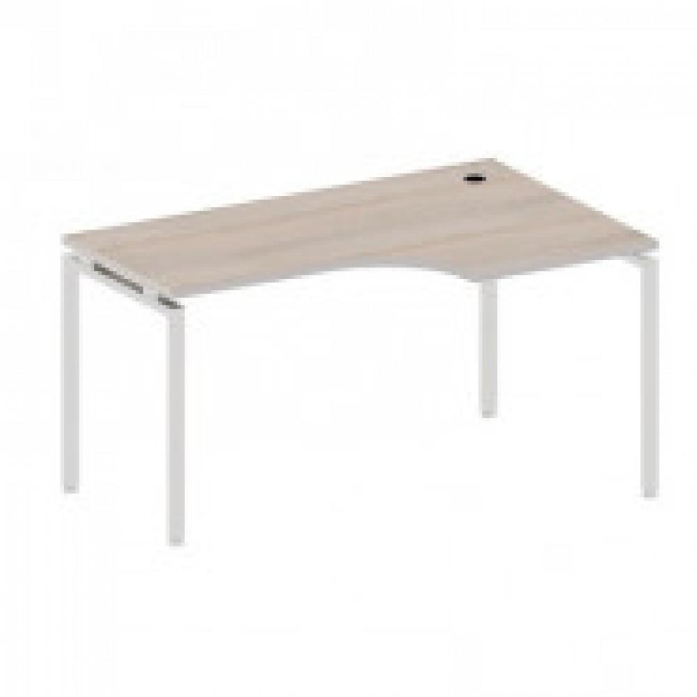 Мебель Easy T Стол прав(871,57,64,70,83) св.дуб(430/720) Ш1400