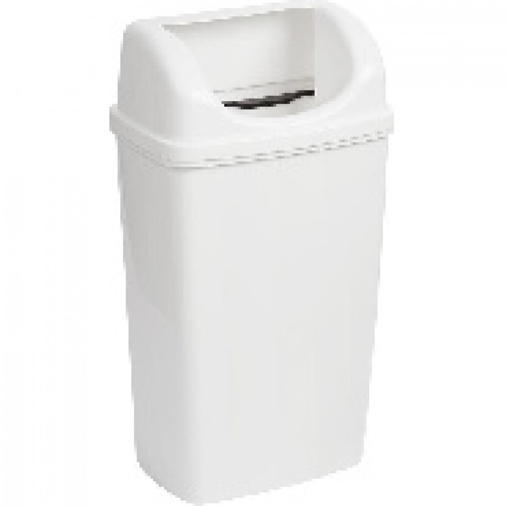 Контейнер для мусора Luscan Professional 50 л пластик белый (36x75 см)