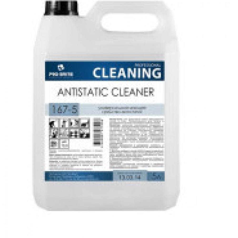 Профессиональная химия Pro-Brite  ANTISTATIC CLEANER 5л(167-5),ср-вод/пола