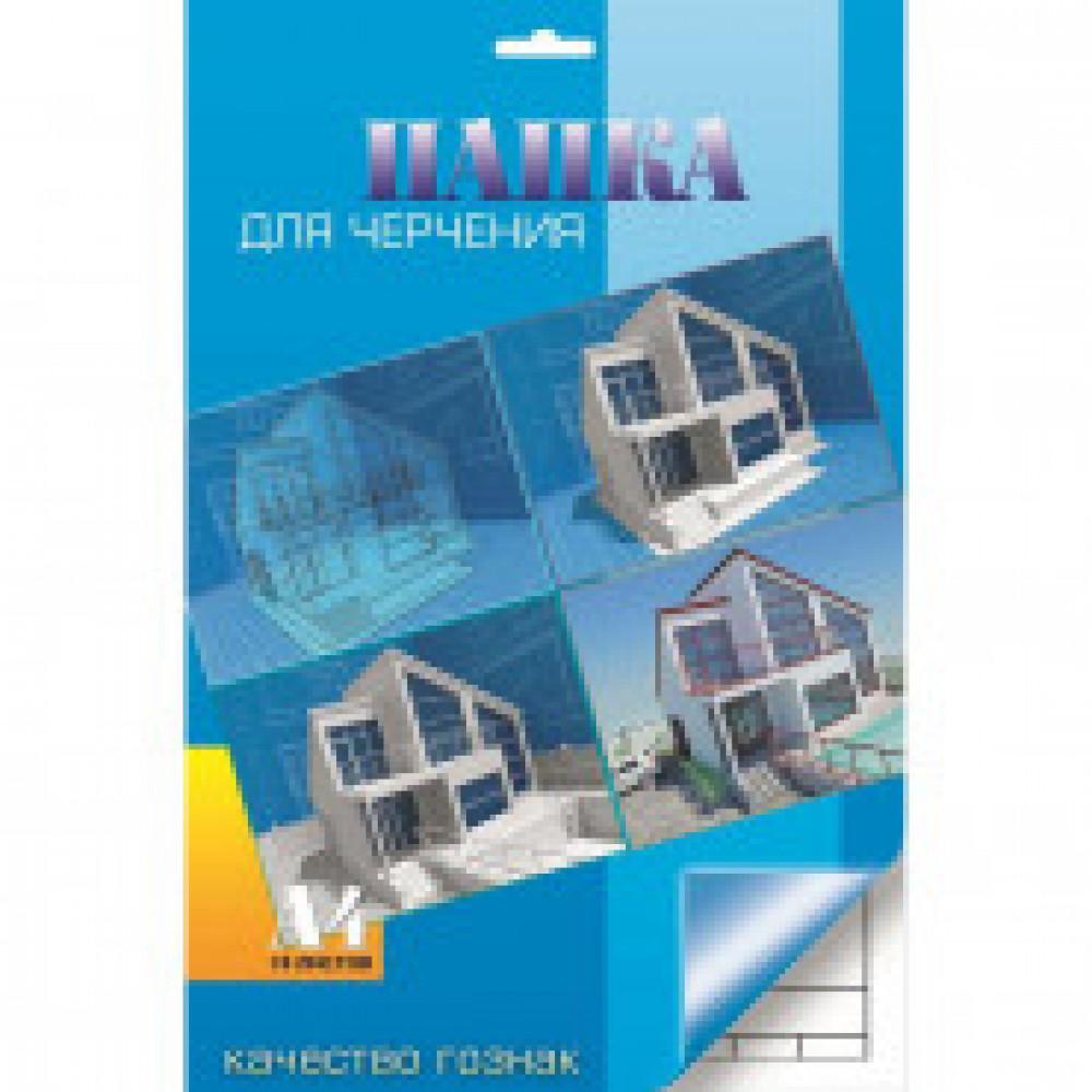 Папка для черчения 10л,А4 с вертикальным штампом АрхитектураС0111-15