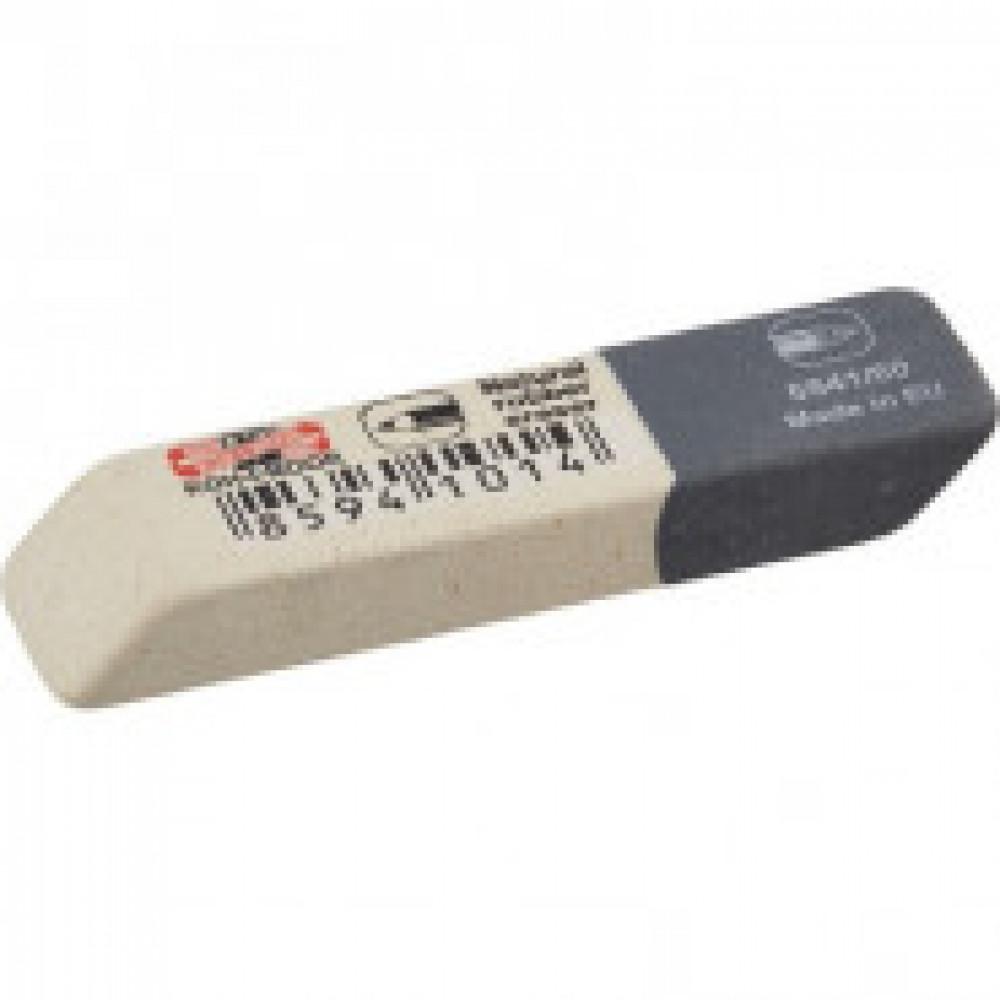 Ластик KOH-I-NOOR 6541/60 каучуковый, комбинир. Чехия