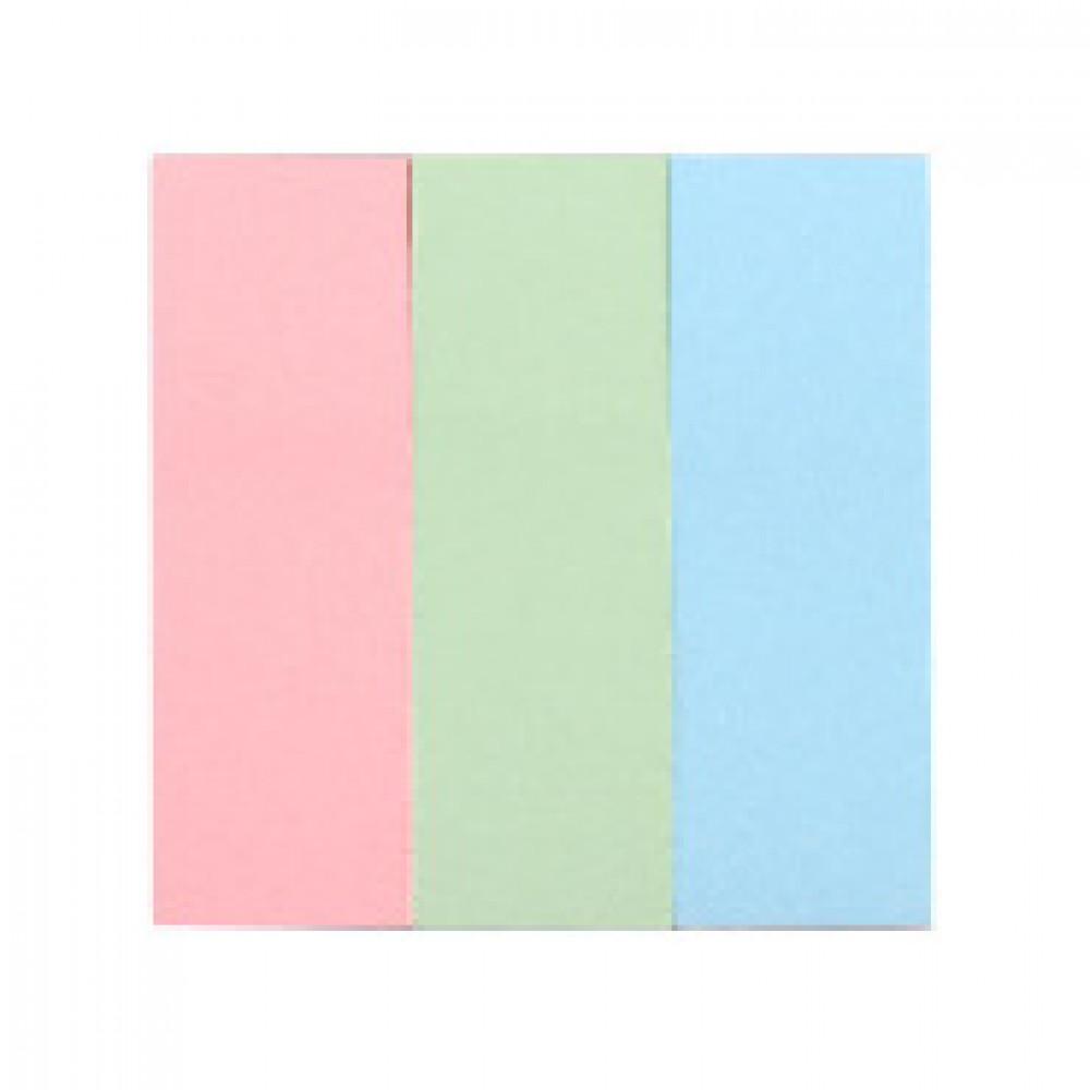 Клейкие закладки бумажные 3цв.по 100л. 25ммх76 Attache