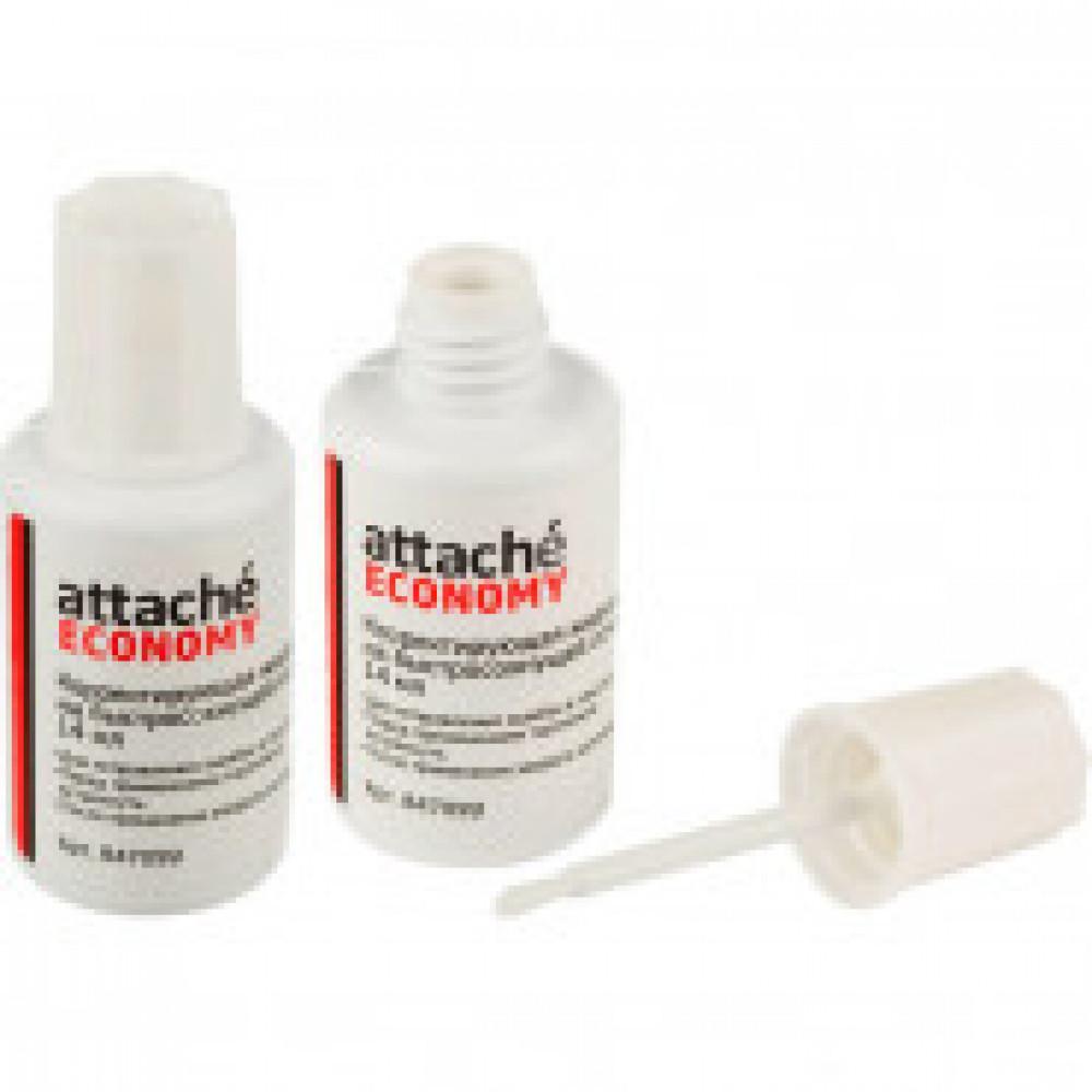 Корректирующая жидкость Attache Economy 14г на быстросохн. основе, кисточка