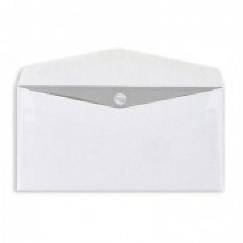 Конверты Белый E65 декстр. OfficePost 110х220 1000шт/уп/1501