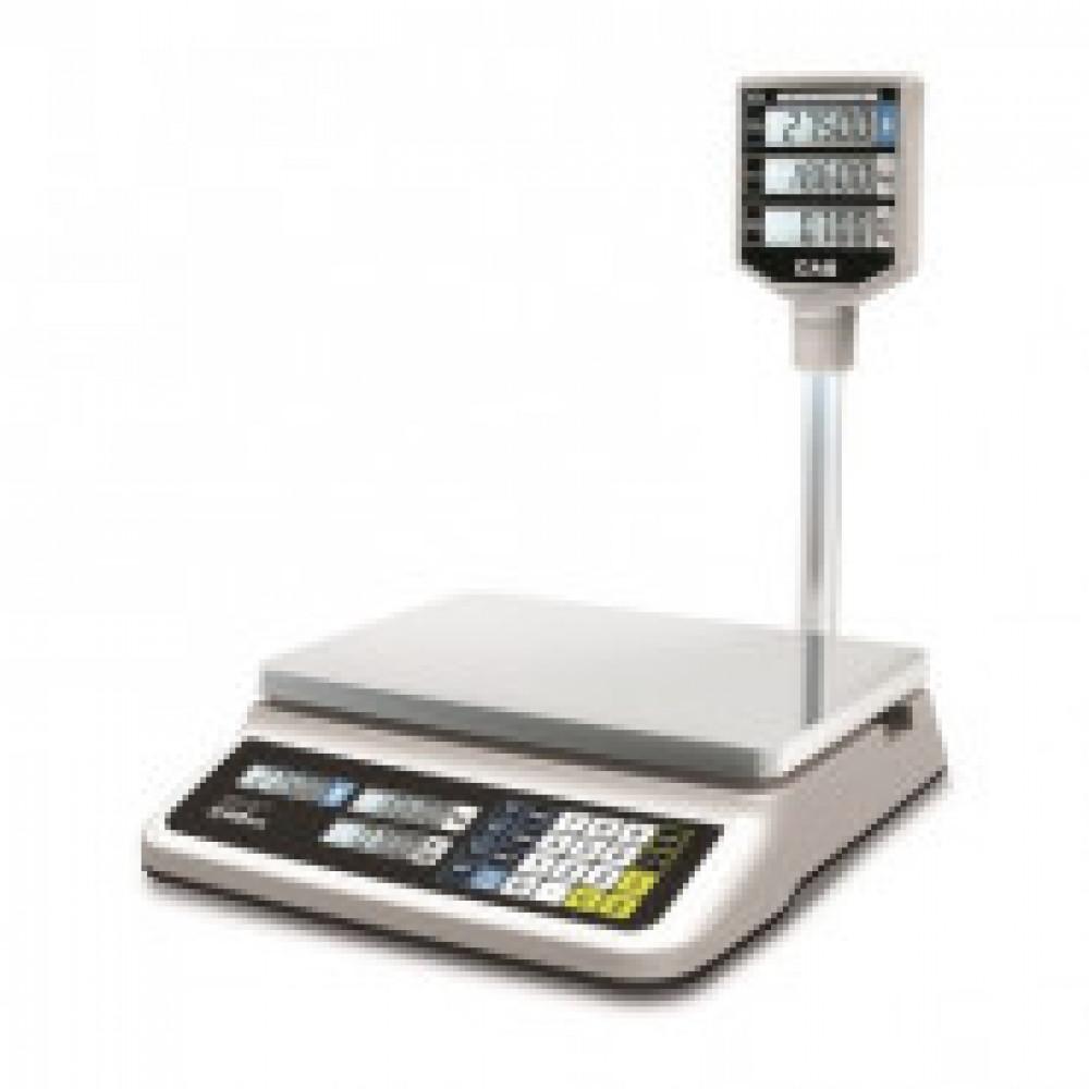 Весы торговые PR-30P LCD (до 30кг) со стойкой