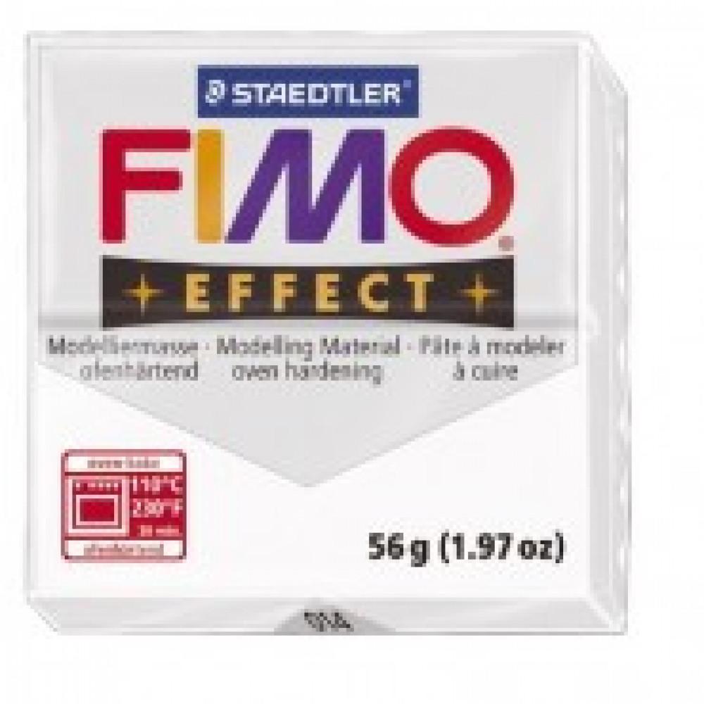 Глина полимерная прозрачная, 57гр,запек в печке,FIMO,effect,8020-014