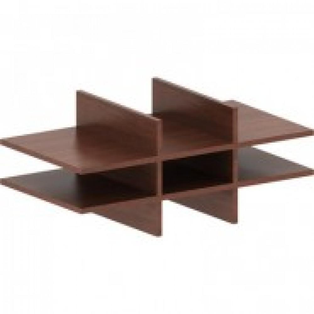 Мебель IN Рондо Полка  Соты  для шкафов 05Р051 66орех