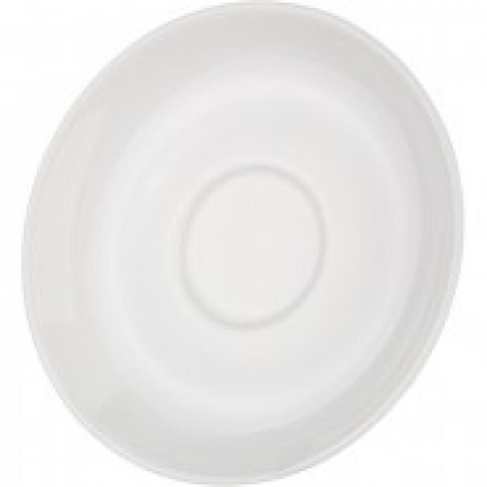 Блюдце Башкирский фарфор белое 120мм (артикул производителя ИБЛ 03.120)