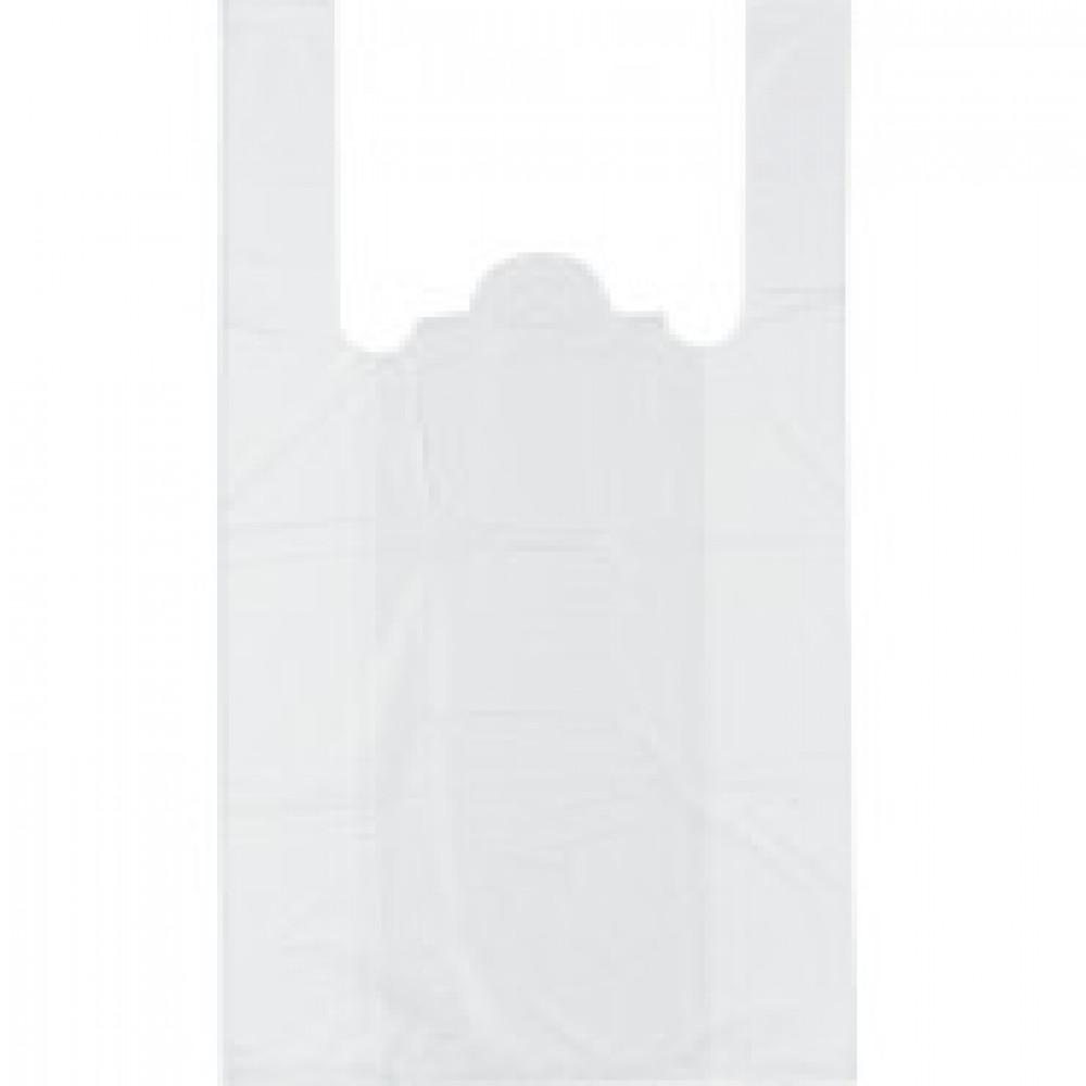 Пакет  майка  ПНД 25+12х45 12мкм 100шт./уп. белая