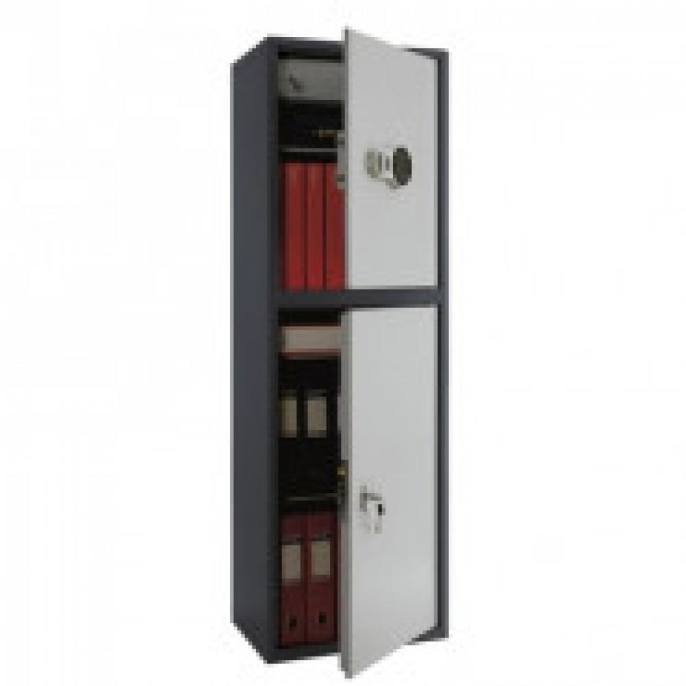 Метал.Мебель AIKO SL-150T-EL/2 шкаф д/бумаг, эл.замок 460х340х1490
