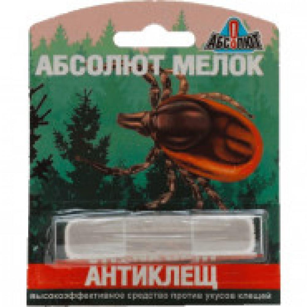 Средства от насекомых мелок Абсолют Антиклещ ПСМБ
