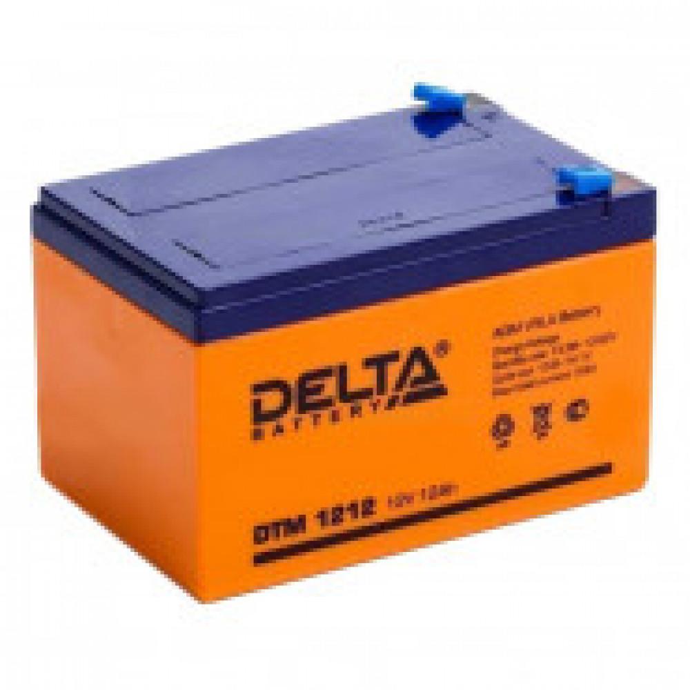 Аккумуляторная батарея Delta DTM 1212 (12V/12Ah)_D_K