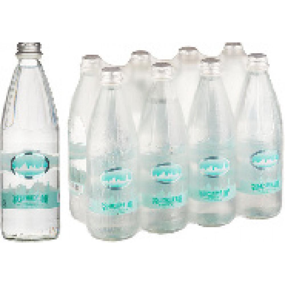 Вода Минеральная  Серафимов Дар газ  0.54 л. ст. бут(8 штук в упаковке)