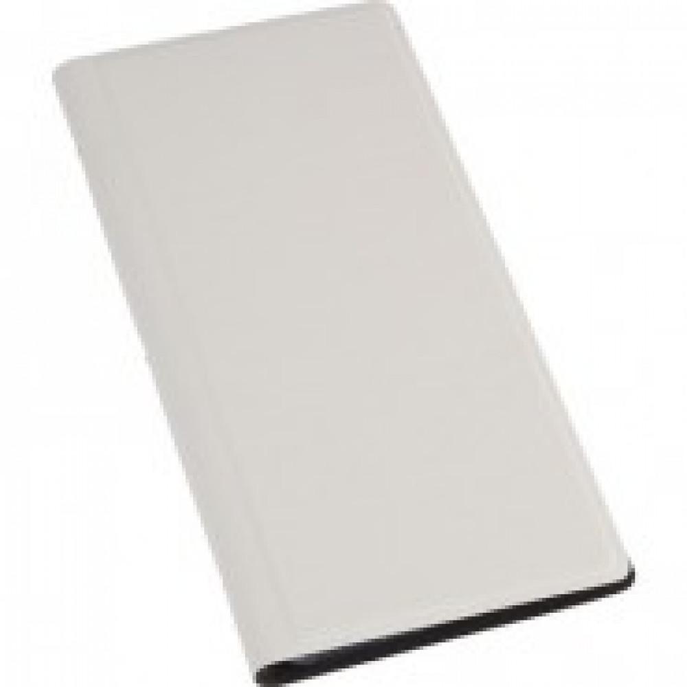 Визитница настольная , 4 кармана, на 128 визиток, PU, белый